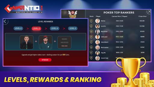 Gamentio 3D: Poker Teenpatti Rummy Slots +More  screenshots 7