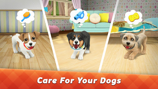 Dog Town: Pet Shop Game, Care & Play Dog Games 1.4.53 screenshots 1