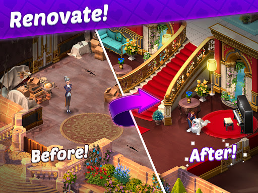 Solitaire Story - Ava's Manor: Tripeaks Card Game  screenshots 10