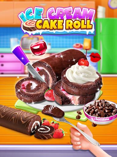 Ice Cream Cake Roll Maker - Super Sweet Desserts apkdebit screenshots 4