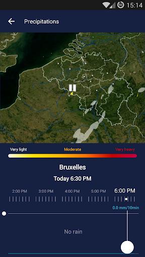 KMI - IRM: .be Weather 2.8.8 Screenshots 4