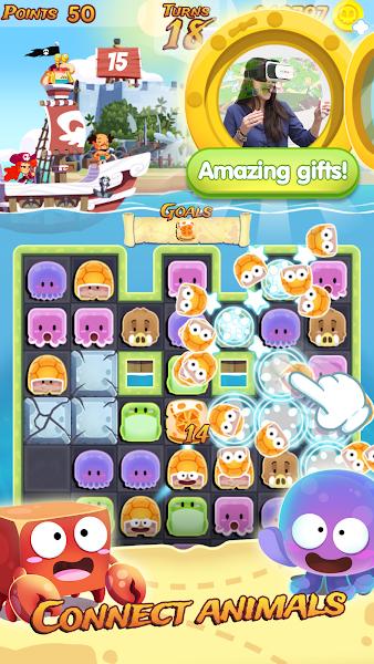 Pirate Match 3 Adventure Treasure of voodoo island