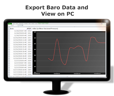 DS Barometer - Altimeter and Weather Information 3.78 Screenshots 6