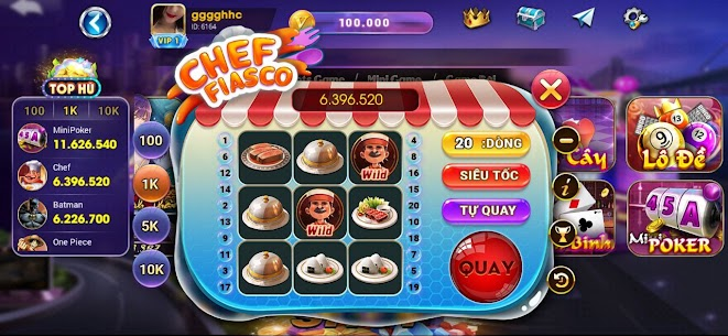 Luxy Vip: Slot Danh Bai NoHu 3