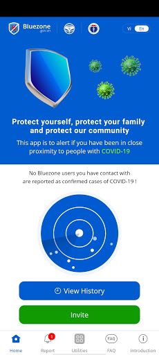 Bluezone - Contact detection apktram screenshots 7