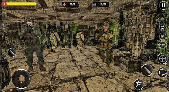 FPS Bắn súng chiến tranh – Counter Critical Strike Ver. 1.0 MOD APK | GOD MODE | DUMB ENEMY | NO ADS 4