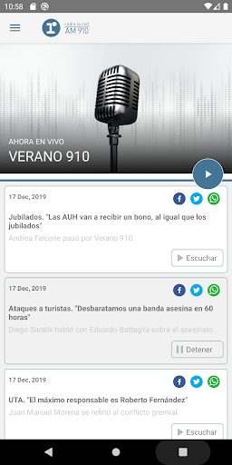 radio la red screenshot 2