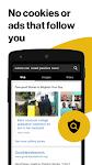 screenshot of Yahoo OneSearch