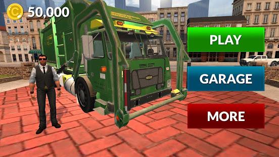 American Trash Truck Simulator 2020: Offline Games apk
