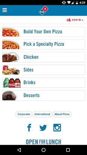 Domino's Pizza Amu00e9rica Latina 3.5.0 Screenshots 1