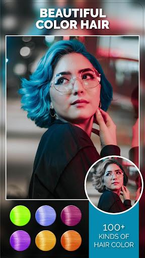 Change Hair And Eye Color apktram screenshots 3