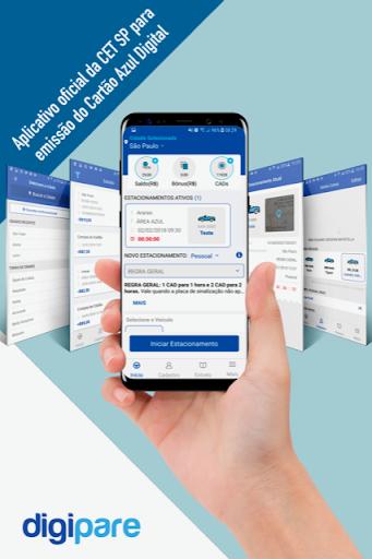 digipare: blue zone parking - mobile pay screenshot 1