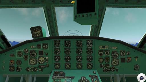 jet airplane fly sky simulator screenshot 1