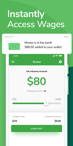 Branch: Banking & Instant Pay  screenshots 2