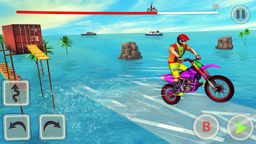Bike Stunt Race 3d Bike Racing Games - Free Games apkpoly screenshots 4