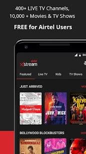 Airtel Xstream v1.41.0 MOD APK – Movies, LiveTV, TV Shows 2