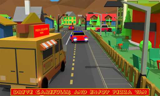 Blocky Pizza Delivery screenshots 4