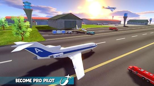 Uçan Uçak Simülatörü Çevrimdışı – Uçak oyunları Full Apk İndir 5