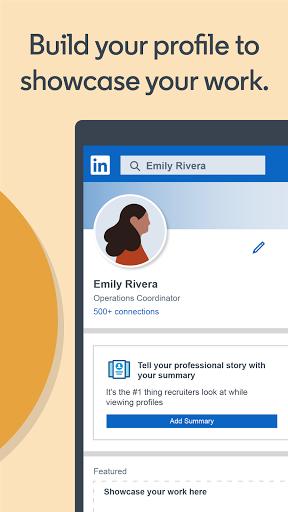 LinkedIn: Jobs, Business News & Social Networking 4.1.545 screenshots 5