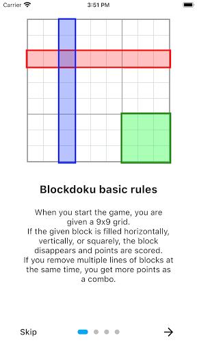 Blockdoku - Combination of Sudoku and Block Puzzle screenshots 3