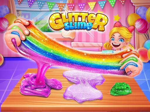 Glitter Slime Maker - Crazy Slime Fun screenshots 16