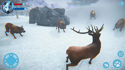 Arctic Wolf Family Simulator: Wildlife Games 17 screenshots 8