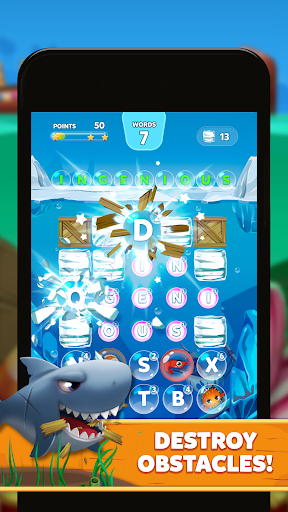 Bubble Words - Word Games Puzzle  screenshots 2