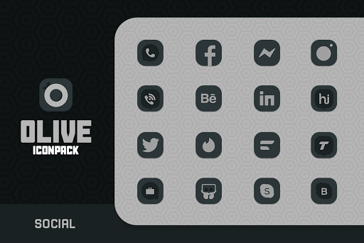 Olive Icon pack