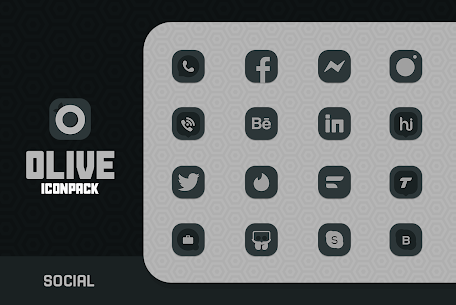 Olive Icon pack Apk 1.2 (Paid) for Android 6