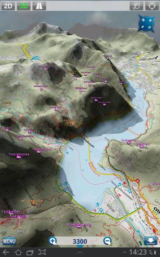 Outdoor and Hiking Navigation  screenshots 9
