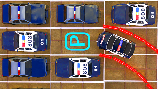 Modern Police Car Parking : Real Car Parking 3D  screenshots 5