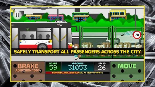 City Bus Driving Simulator 2D – coach driver sim Apk Download 1