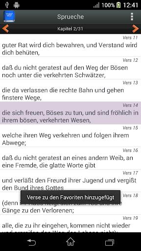 Deutsch Luther Bibel android2mod screenshots 6
