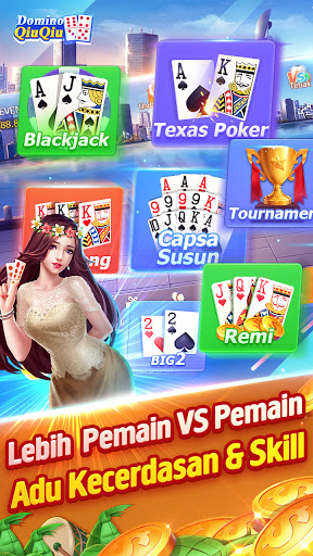 Domino QiuQiu 2020 - Domino 99 u00b7 Gaple online 1.17.5 screenshots 7
