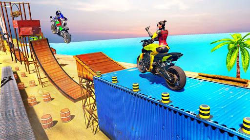 Racing Bike Stunt Games 2021 : Bike Race Game 3D Apkfinish screenshots 3
