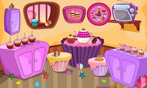 Escape Games-Cupcake Rooms  screenshots 1
