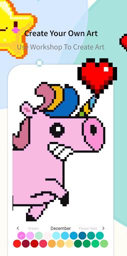Pixel.Unicorn: Pixel Art Color By Number 11.0.0 screenshots 14