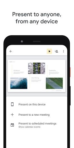 Foto do Google Slides