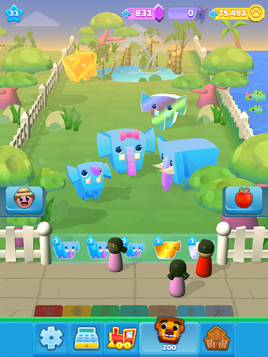 Spin a Zoo - Tap, Click, Idle Animal Rescue Game!  screenshots 12