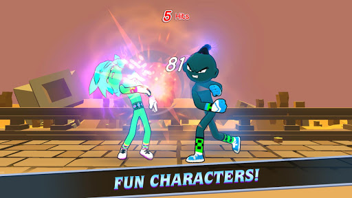 Duel Heroes - Stickman Battle Fight 2.4 screenshots 1