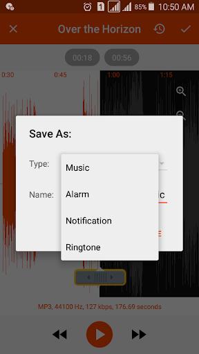 MP3 Cutter and Ringtone Maker - Audio Merger android2mod screenshots 3