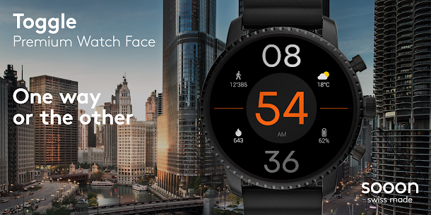 Toggle Watch Face  For Pc (Windows 7, 8, 10 & Mac) – Free Download 1