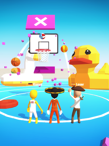 Five Hoops - Basketball Game apkmr screenshots 9
