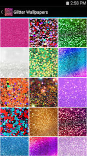 Glitter Wallpapers Screenshot