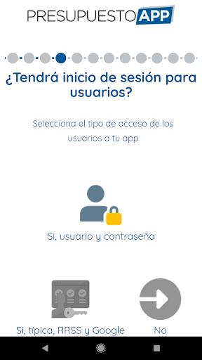 Presupuesto App  screenshots 14