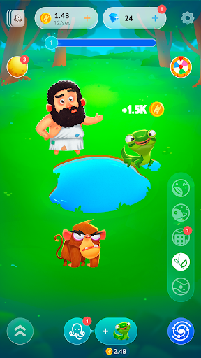 Human Evolution Clicker: Tap and Evolve Life Forms  screenshots 7