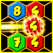Merge It! Hexagon Number Puzzle