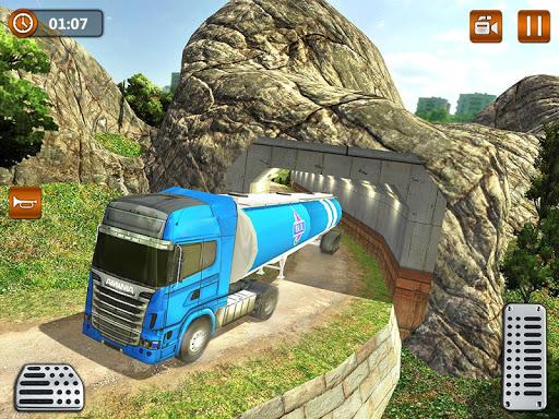 Offroad Oil Tanker Truck Transport Driver  Screenshots 13