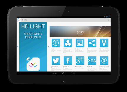 HD Light Free - Icon Pack