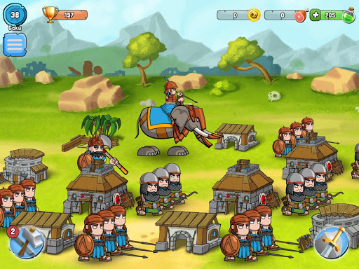 Spartania: The Orc War! Strategy & Tower Defense! 3.17 Screenshots 11